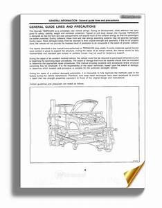 Hyundai Terracan Body Repair Manual