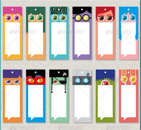 12+ Best Coloring Bookmark Templates For Kids Free