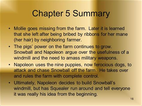 Animal Farm Resume By Chapters by All Animals Are Equal But Some Are More Equal Than Others Ppt