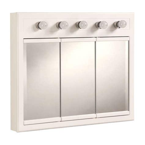 Bathroom Medicine Cabinets White by Bathroom Medicine Cabinet Mirror 5 Light Surface Mount