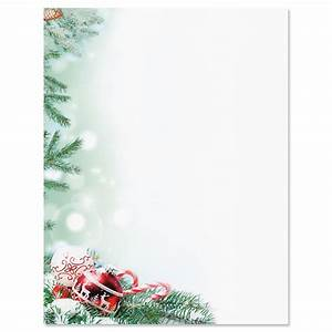 crystal pineboughs christmas letter papers current catalog With holiday letter paper