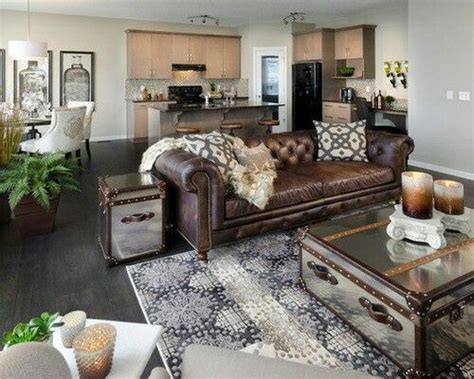 Home Decorating With Brown Couches by Decor Around Distressed Leather Sofa Decor Ideas