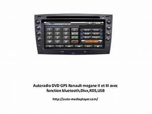 Autoradio Megane 2 : autoradio dvd gps renault megane ii et iii avec fonction ~ Melissatoandfro.com Idées de Décoration