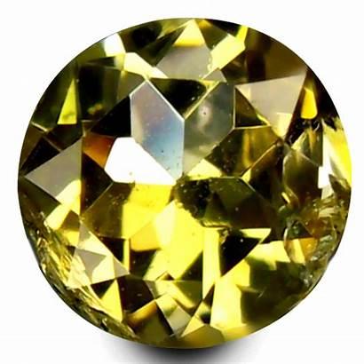Tanzanite Yellow Round Outstanding Heated Gemstone Ct