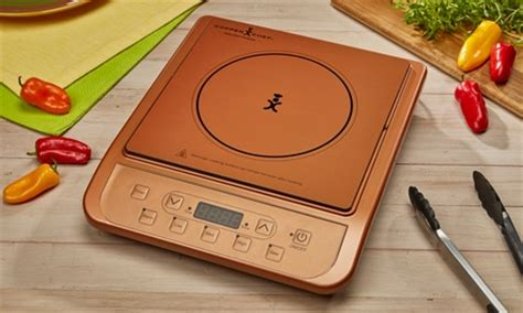 copper chef induction cooktop groupon