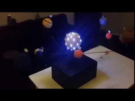 como hacer maqueta sistema solar con movimiento ahora con tuto de mecanismo youtube