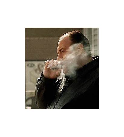 Cigar Smoking Sopranos Soprano Tony Gandolfini James