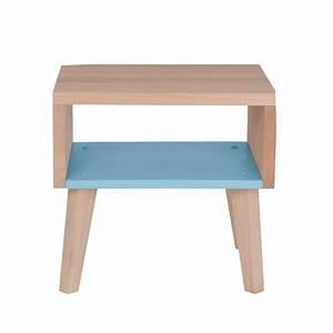 Table De Chevet Bleu : table chevet bleu ~ Preciouscoupons.com Idées de Décoration