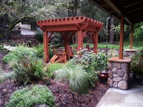 diy arbors awnings decks pavilions pergolas bridge