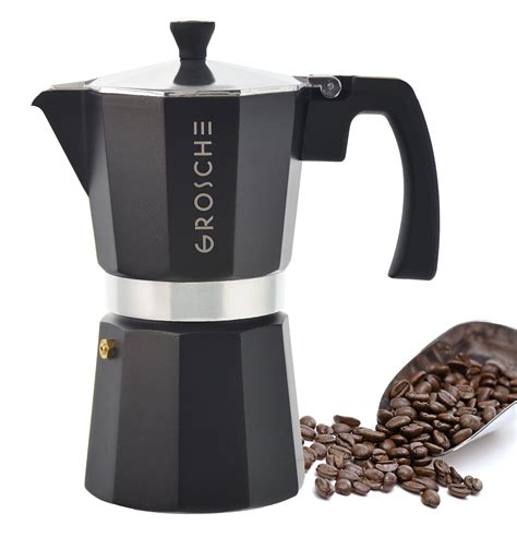Shop the top 25 most popular 1 at the best prices! GROSCHE Milano Moka 6-Cup Stovetop Espresso Coffee Maker ...