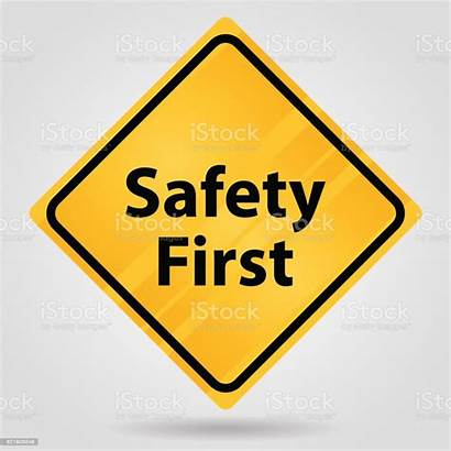 Safety Sign Traffic Yellow Vector Safe Efficiency