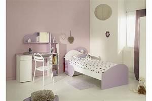 Mobilier Chambre Enfant : chambre fille tendance rozy cbc meubles ~ Teatrodelosmanantiales.com Idées de Décoration