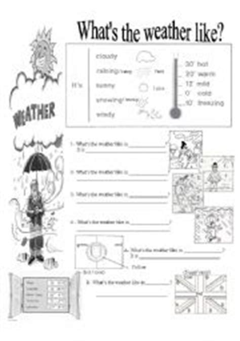 english teaching worksheets what 180 s the weather like