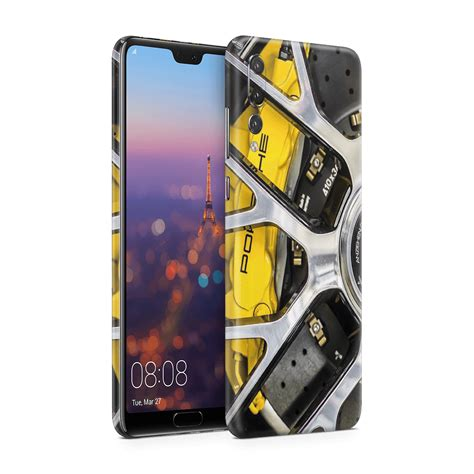 Huawei just introduced the porsche design mate rs, which is sort of a blend between its new p20 pro (triple rear cameras) and the galaxy note 9 (no notch; Porsche v1 kaplama Huawei P20 lite | thincase.com.tr