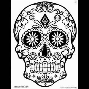 Tete De Mort Com De Mort Pour Imprimer Le Coloriage Tete Clique Sur