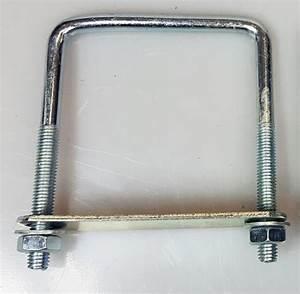 10 Quadrat Kabel : 4 x quadrat u bolzen f r bootsanh nger 90x120x10mm mit muttern platte ub2 ebay ~ Frokenaadalensverden.com Haus und Dekorationen