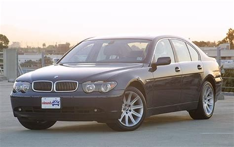Used 2002 Bmw 7 Series Pricing