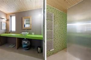 Deco Salle De Bain Gris : deco salle de bain gris et vert ~ Farleysfitness.com Idées de Décoration