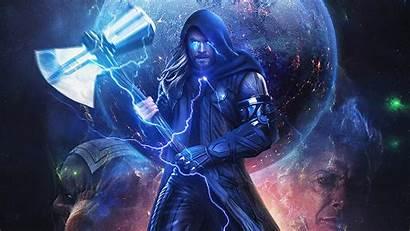 Thor Hammer Wallpapers Artwork Superheroes Backgrounds 4k