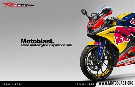 modifikasi striping yamaha all new r15 redbull wsbk motoblast