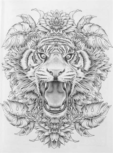 Pin by Jeremiah on Tattoo | Animal coloring pages, Color