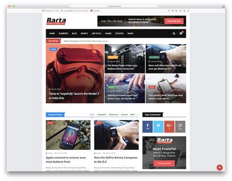 34 Awesome Tech News WordPress Themes 2021 - Colorlib