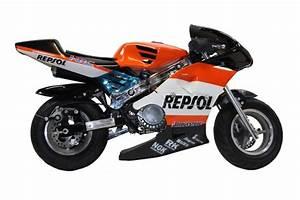 Moto Honda 50cc : new 50cc mini moto repsol honda design replica motorbike xmas gift ebay ~ Melissatoandfro.com Idées de Décoration