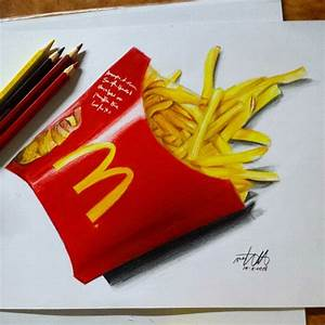 MCDONALD'S FRENCH FRIES by kamkamielala on DeviantArt