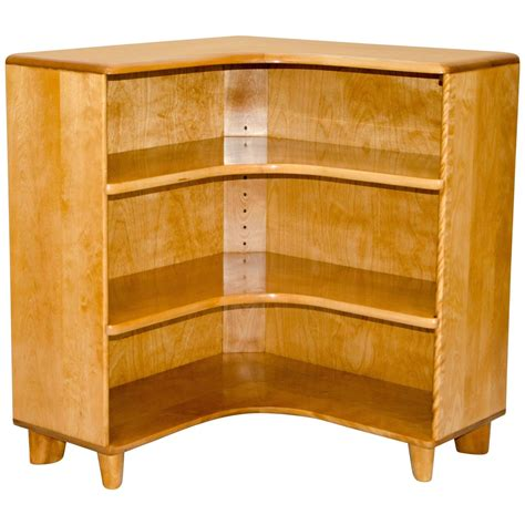 mid century bookcase for sale mid century heywood wakefield corner bookcase or cabinet