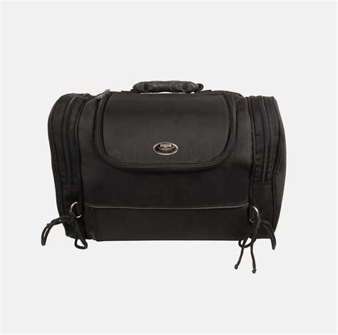 bag with rack motorcycle rack sissy t bar bag travel plain luggage