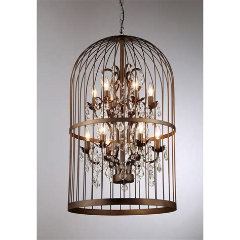how to make a birdcage chandelier 1000 ideas about birdcage light on birdcages
