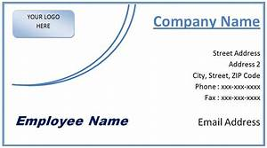 Microsoft word business card template free best business for Business card template powerpoint 2010