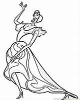 Coloring Flamenco Spanish Spain Dancer Passionate Coloringpages101 Printable Dancers Template Comments sketch template