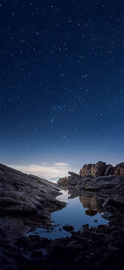 Iphone Sky Night Nature Mountain Xr Rock