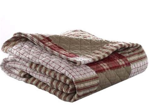 Cotton Throw Blanket Quilt Quilted Christmas Comfy Bed
