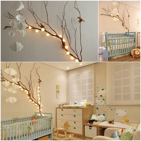 creative forest themed kids bedroom  nursery decor ideas