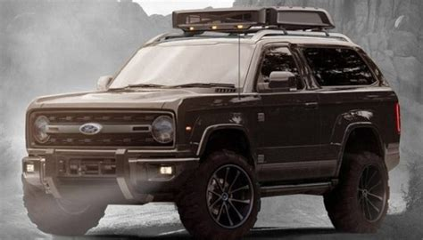 ford bronco price release date news interior engine