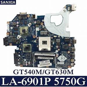 Kefu P5we0 La 6901p Laptop Motherboard For Acer 5750 5750g