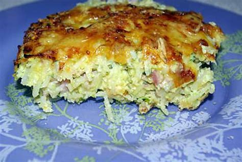 recette de gratin de galette aux pommes de terre et courgettes