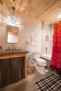 Elegant, Ruffle, Shower, Curtain, Decoration, Ideas, For, Bathroom, Eclectic