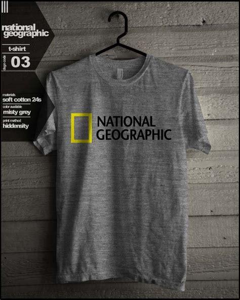 national geographic t shirt universitas pendidikan