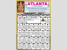 Atlanta Telugu 2011 Calendar Astrology Online horoscope