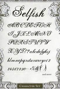 Tattoo Script Lettering Font