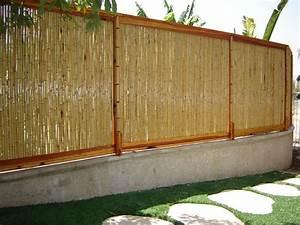 """6 Foot Bamboo Fencing Natural Color - 0 75"""" D x 6' H x 8' L"""