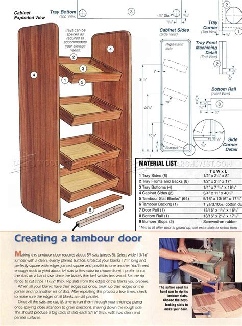 cordless tool charging cabinet plans woodarchivist