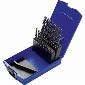 Coffret Foret Professionnel : coffret 19 forets cylindriques tailles meules hss ~ Teatrodelosmanantiales.com Idées de Décoration