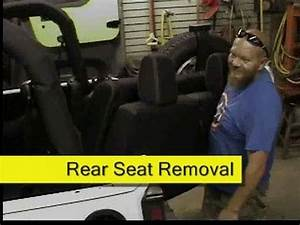Jeep Wrangler Jk Rear Seat Removal How To Diy