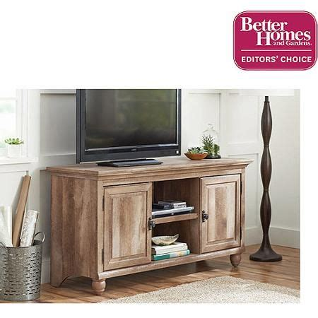 better homes and gardens crossmill collection tv stand