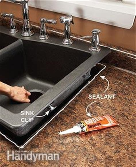 sealing sink drain with silicone replace a sink family handyman
