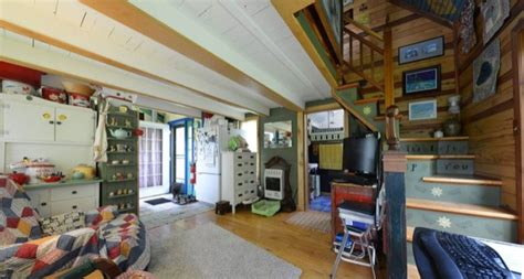 Couple Rightsize Into Diy 520 Sq. Ft. Whimsical Cottage